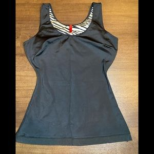 Spanx Black In Out Tank - medium